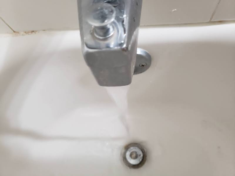 dripping faucet wasting water