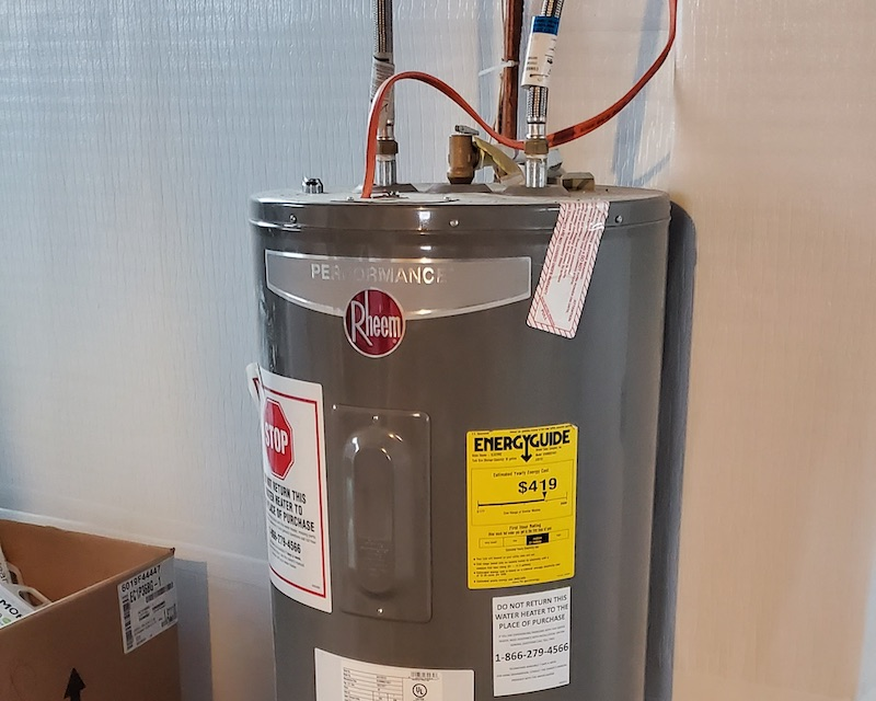 hot water tank failure