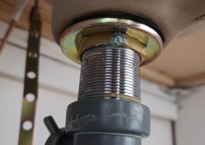 Drain Pipe and Nut